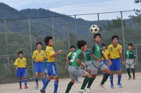 令和2年度 安芸郡・江田島市中学校サッカー新人大会 開幕する!