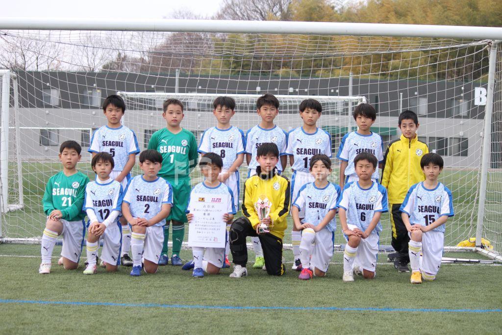 第1回 U-11広島チャレンジカップ  優勝 シーガル