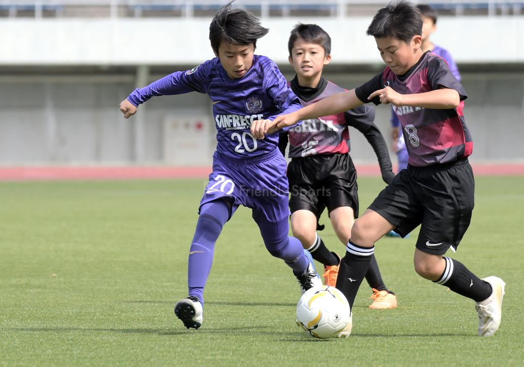 Aブロック:広島市スポーツ少年団県外招待サッカー
