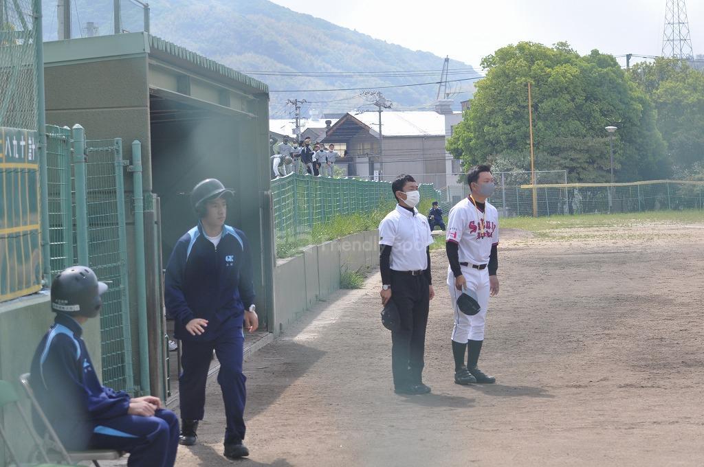 呉港 VS 広島桜が丘 試合模様3