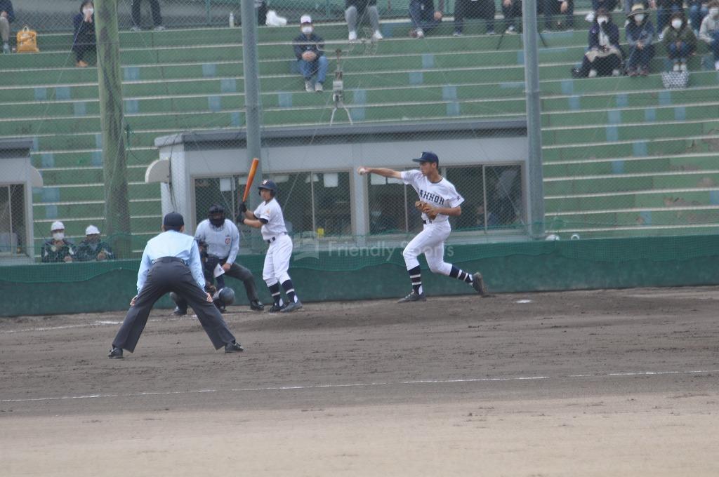 令和3年度 春季広島県高等学校野球大会  観音 VS 基町