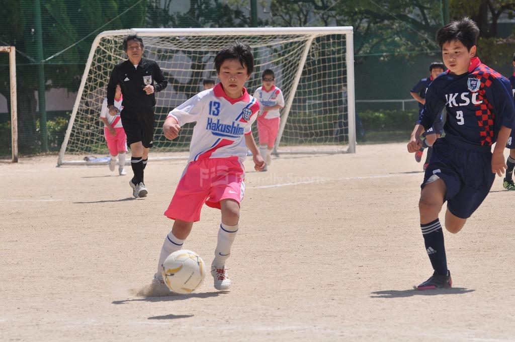 第33回広島市中区長杯少年サッカー 白島 VS  NK!
