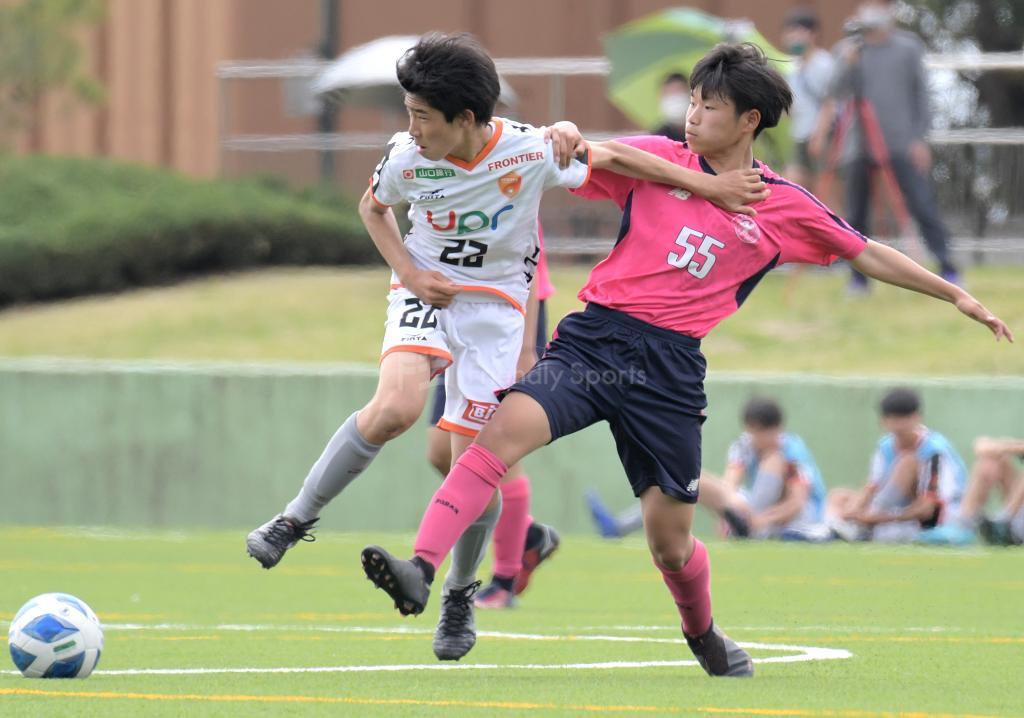 ローザス vs レノファ 中国プログレスリーグ(U-15)