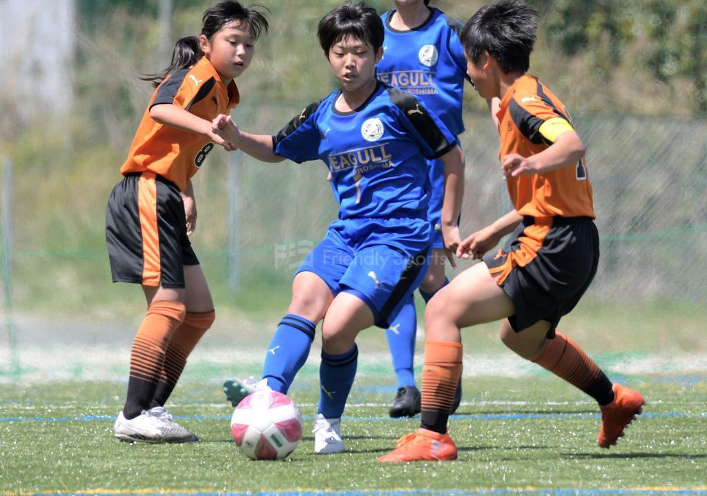 シーガル vs 高川 U-15女子サッカーリーグ中国