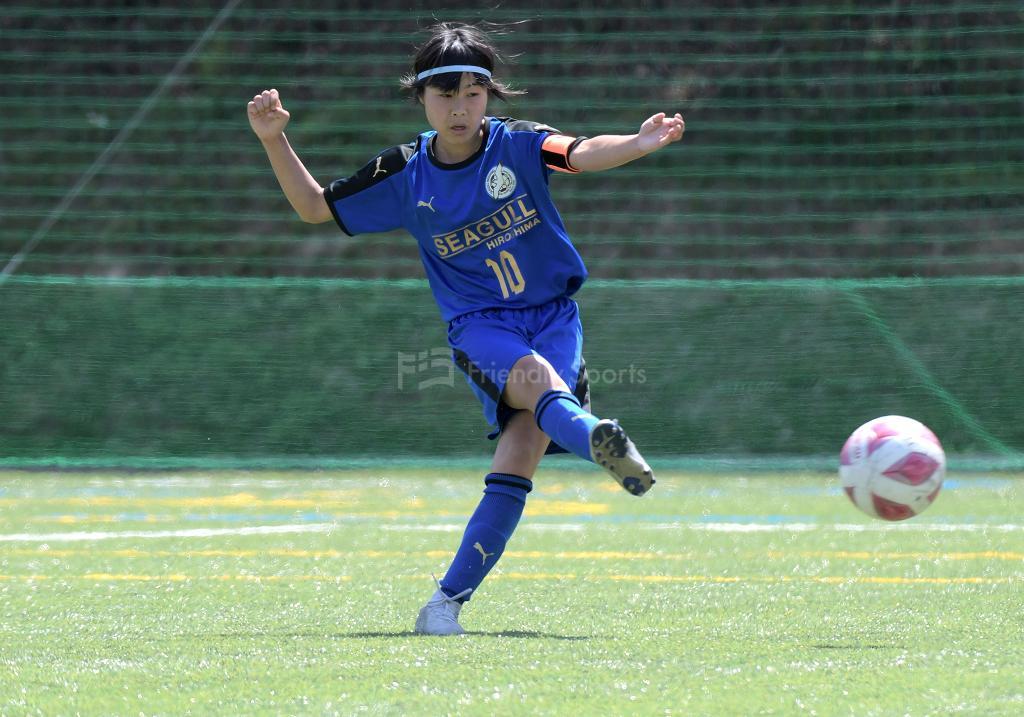 U-15女子サッカーリーグ中国  4月11日 試合結果