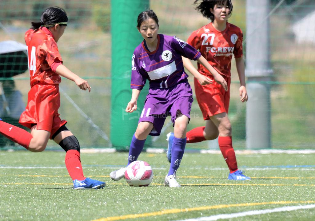 ローザス vs Revo山口 U-15女子サッカーリーグ中国