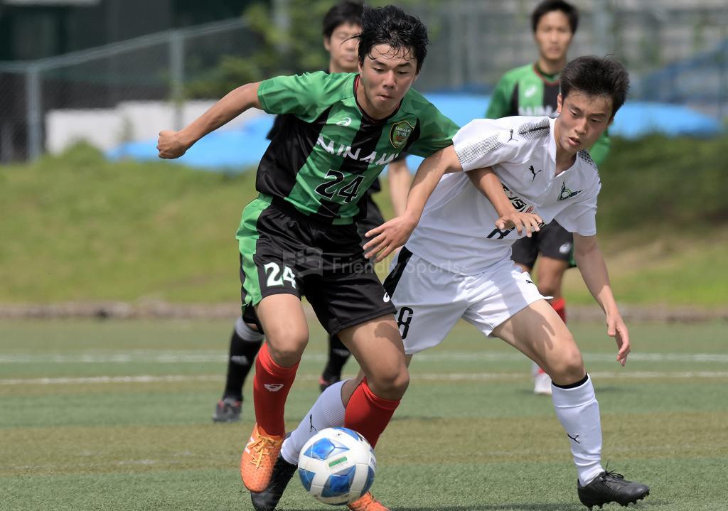 皆実 vs ガイナーレU-18 高円宮杯U-18 プリンスリーグ中国