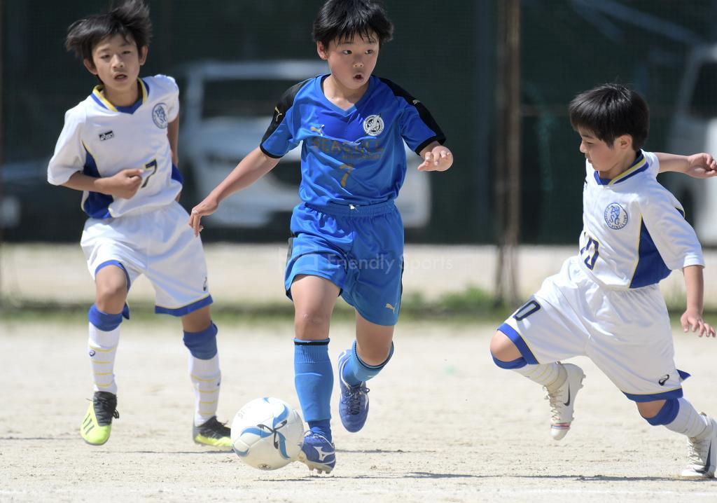 シーガル vs 伴 広島市小学生大会