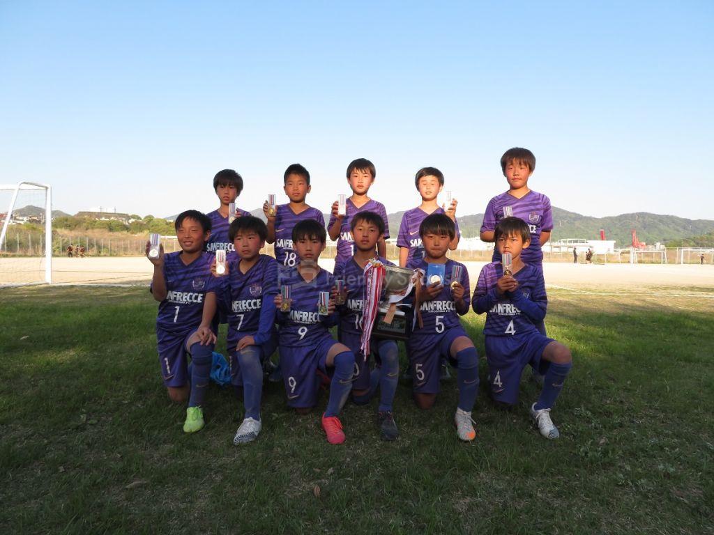 仁保チャレンジカップ 優勝 サンフレに決まる(写真追加)
