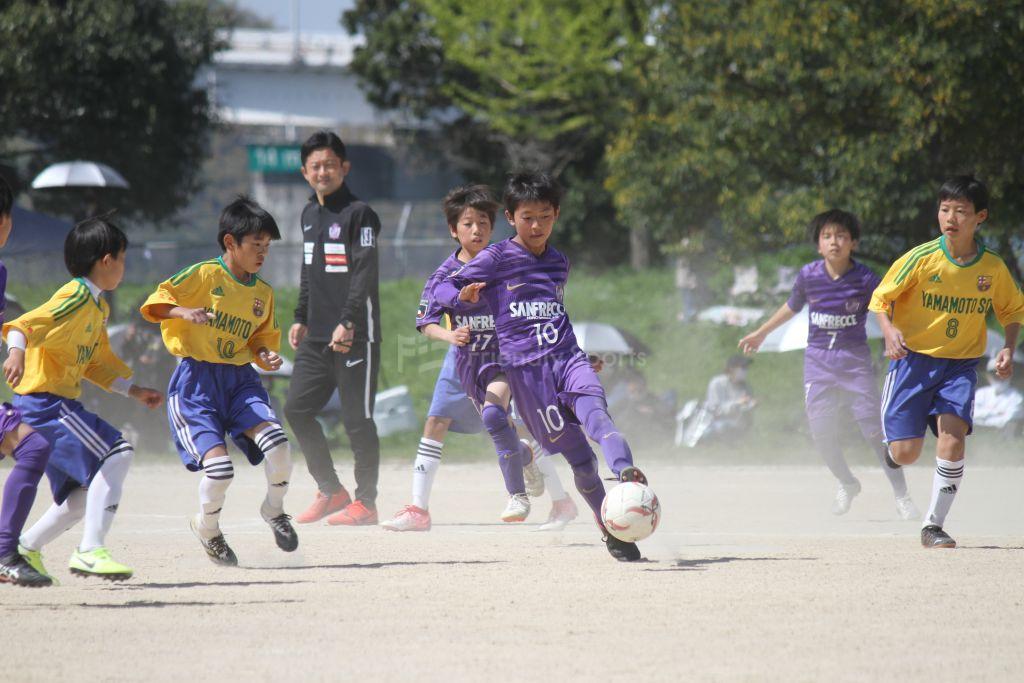 仁保チャレンジカップ サンフレ vs 山本