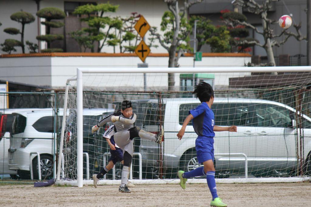 U12広島支部リーグ戦 宇品 vs 倉掛