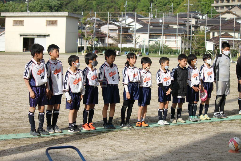 U12広島支部リーグ戦 Fブロック 4月17日、18日 結果