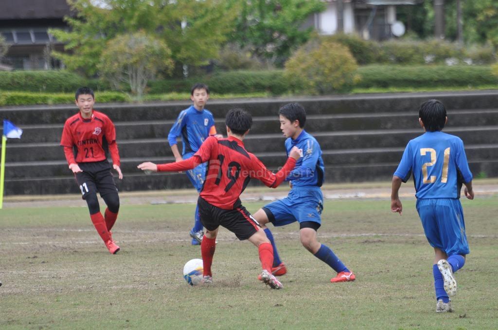 プロボカーレ vs 吉島セントラル 試合模様1