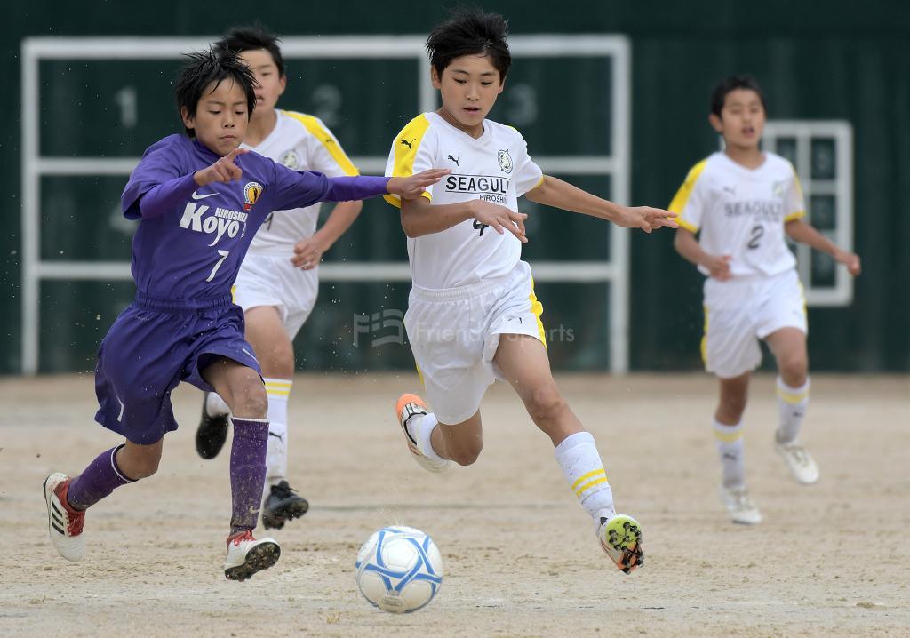シーガル vs 高陽 広島市小学生大会