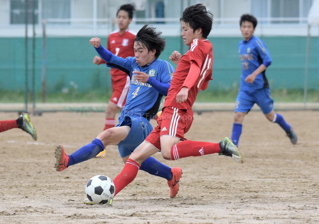 廿日市 vs 廿日市西 高校総体サッカーの部(広島地区予選)