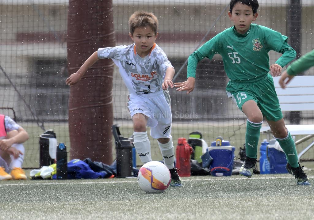 リベルタ vs ソレイル 広島県少年サッカー大会 (西支部)