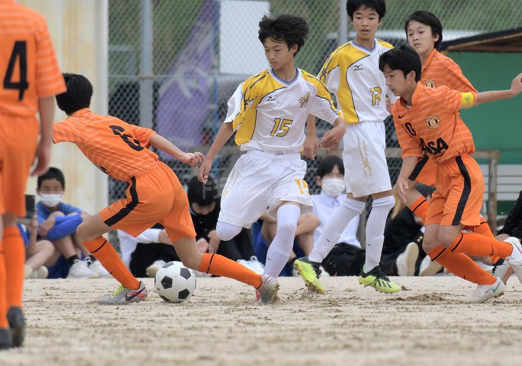 伴 vs 安佐 広島市中学校選手権(安佐南区)