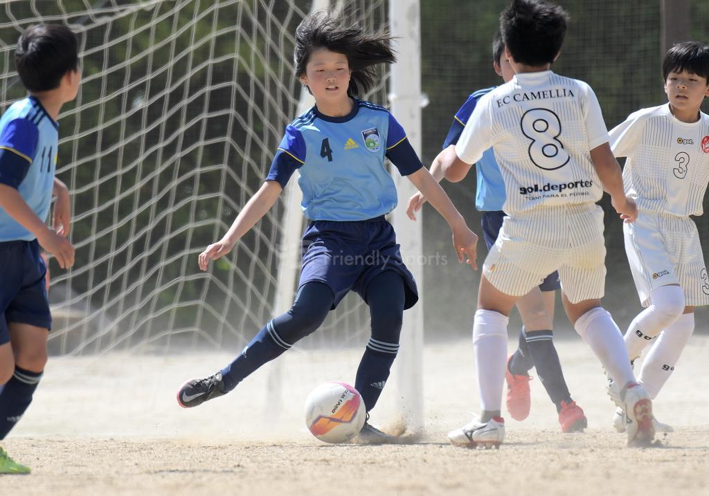 CAMELLIA vs 九嶺 南支部U-12リーグ