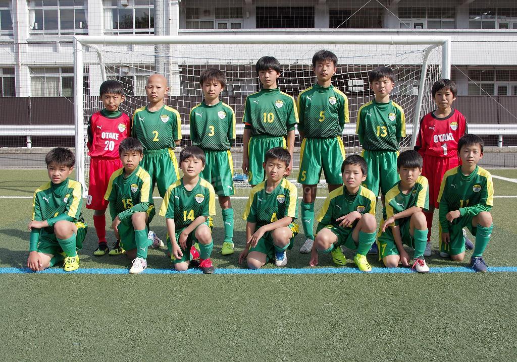 県少年 西支部予選 優勝 大竹 PK戦の激闘を制する