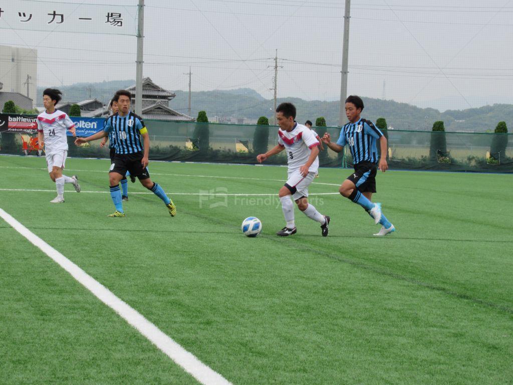 PL2021中国 第6節 岡山学芸館 vs ファジアーノ岡山U-18