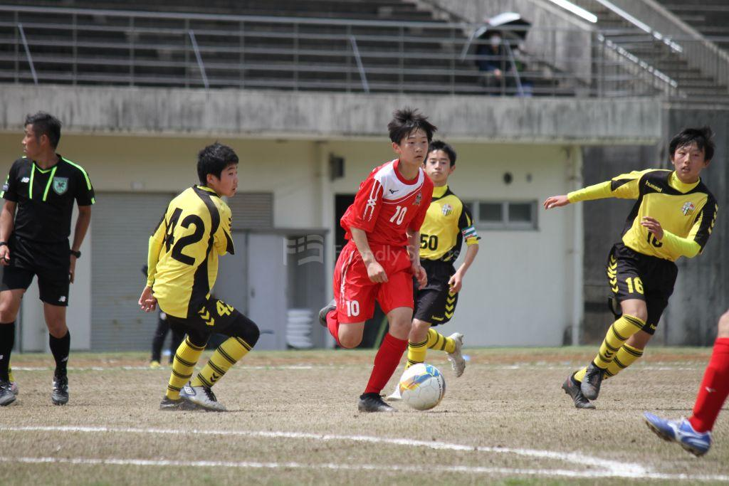 NAKAHIRO  vs  HARUMI クラブユース(U-15)