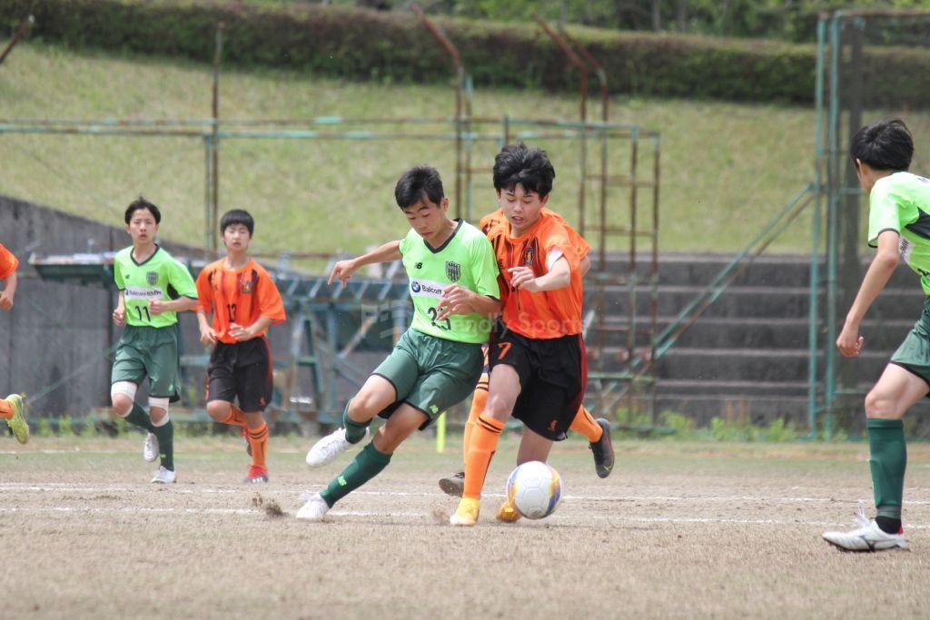 CAVATINA  vs  仁保 クラブユース(U-15)