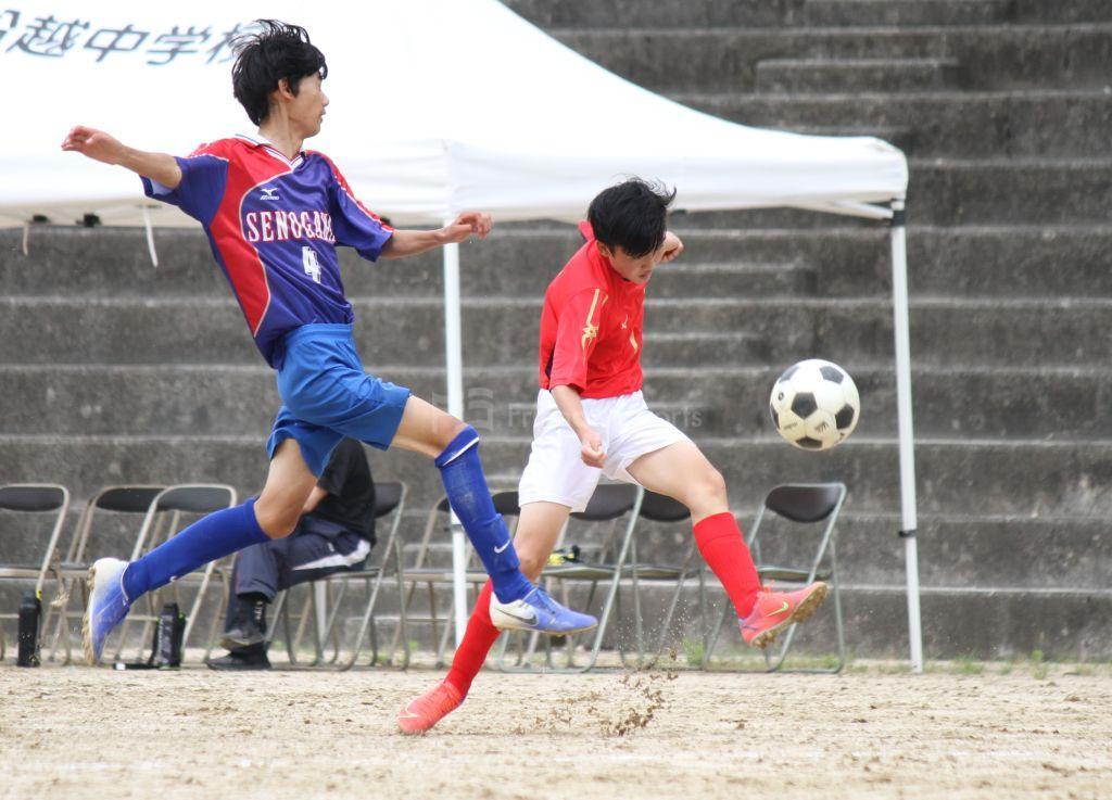 瀬野川 vs 吉島 広島市中学選手権(中・安芸区予選)