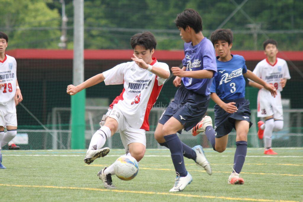 クラブユースサッカー選手権(U-15)広島県予選 (5/8試合結果)