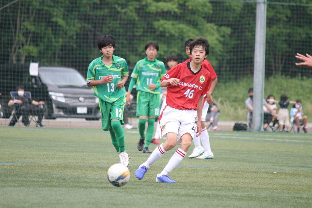 皆実 vs 川内 クラブユース(U-15)