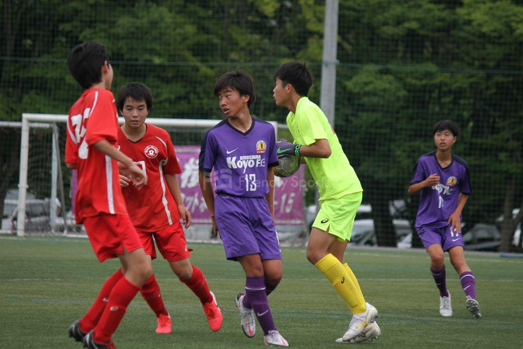 レヴァリーズ vs 高陽FC クラブユース(U-15)
