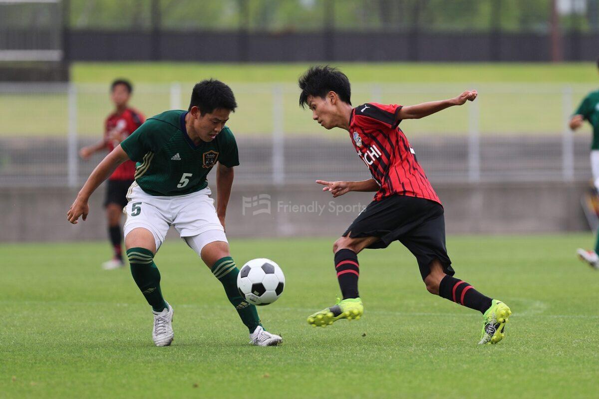 崇徳 vs 瀬戸内 広島県高等学校総合体育大会サッカーの部
