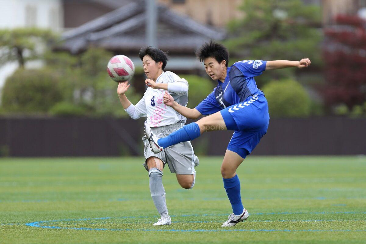 山陽 VS 広島文教                        高等学校総合体育大会 サッカー女子の部