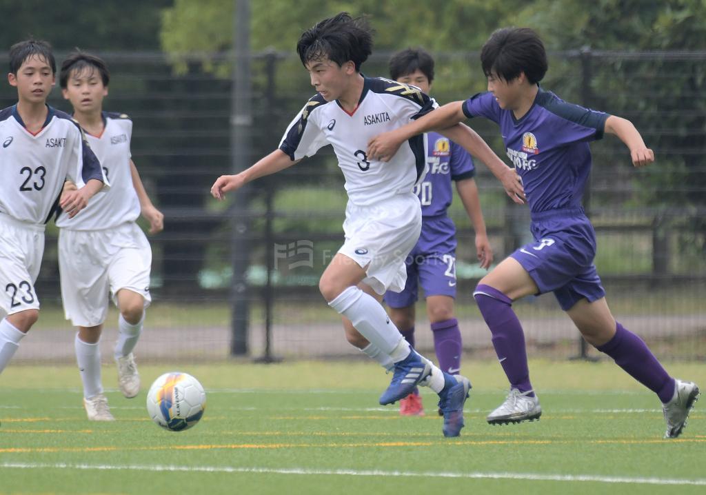 高陽 vs 安佐北 クラブユース選手権 U-15 広島県大会
