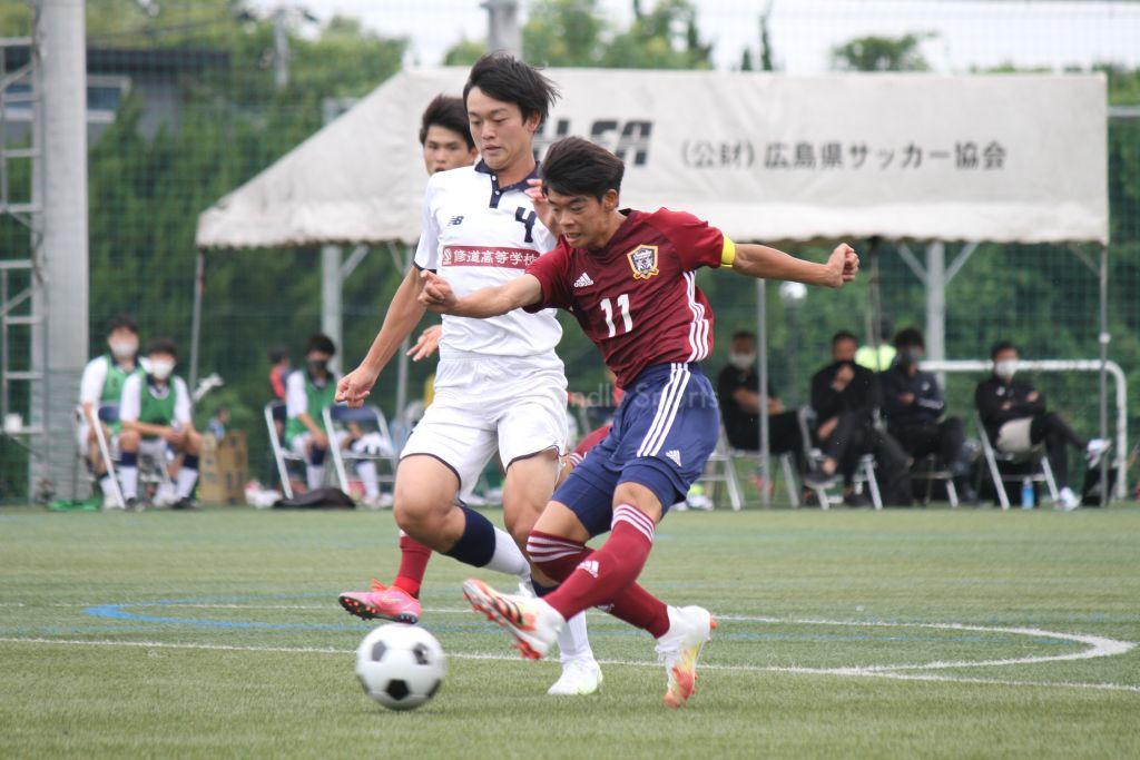 崇徳 vs 修道 高校総体(男子)3回戦①
