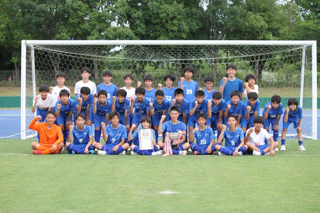 優勝 坂中学 呉賀茂地区中学校サッカー(県選手権予選)2021