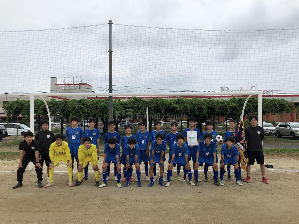 福山地区中学校春季総合体育大会サッカーの部 優勝 城南中学校