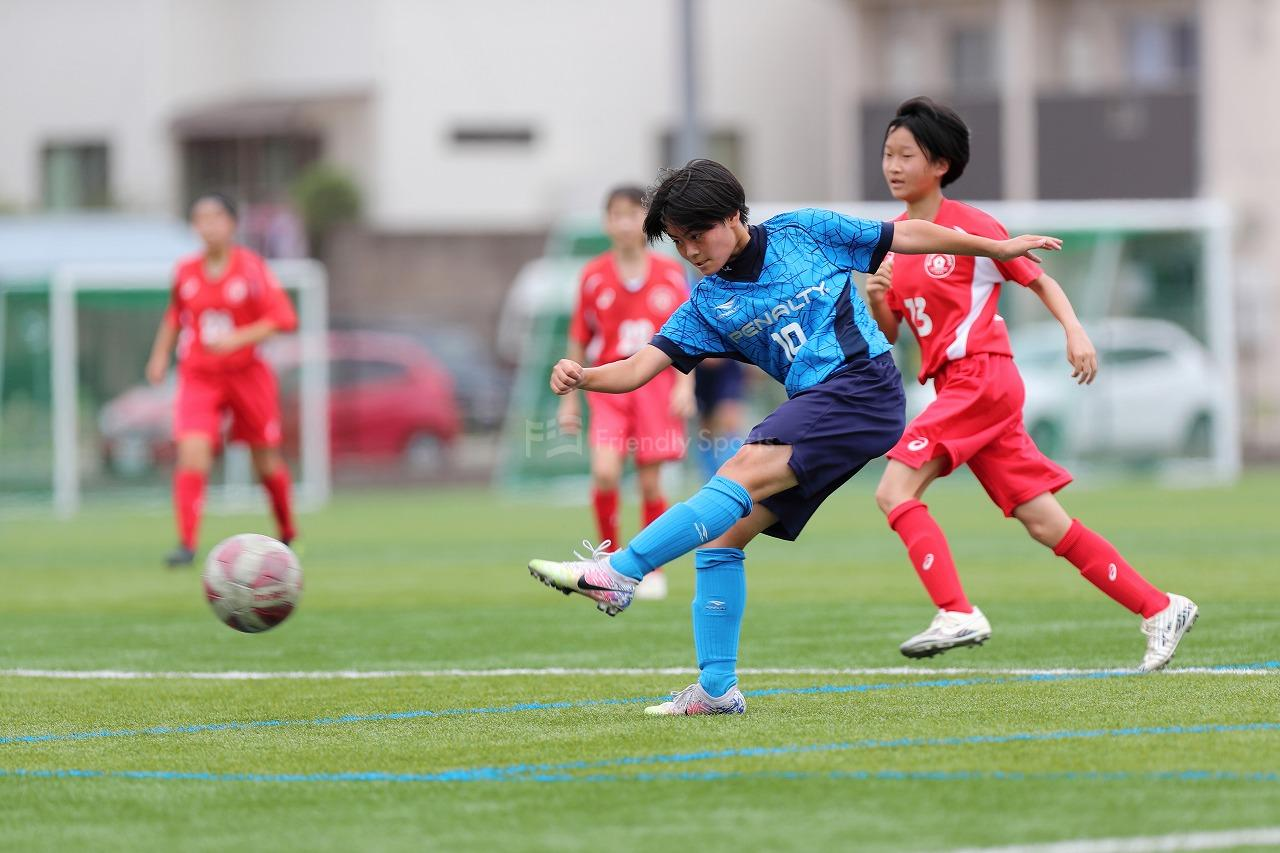 マリット vs 山陽女子学園 県女子サッカー選手権大会