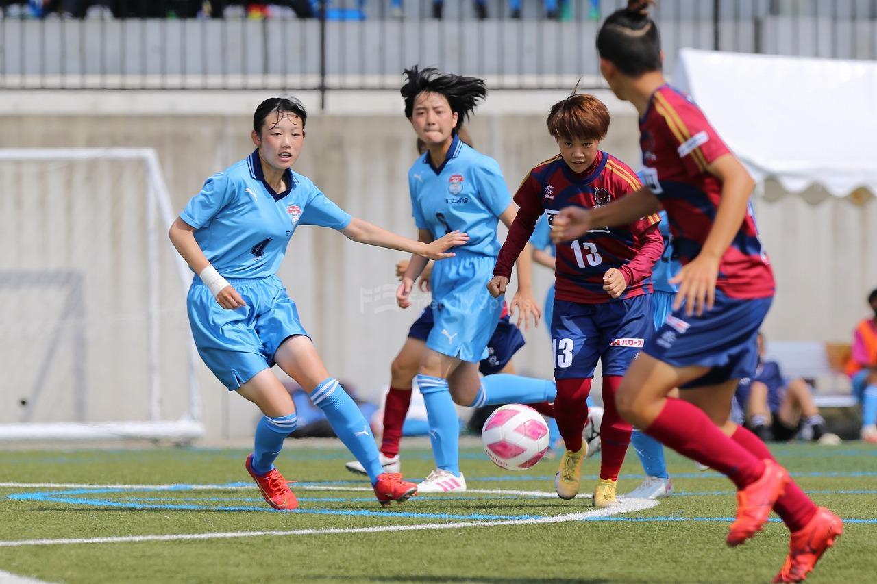 第37回広島県女子サッカー選手権大会  ベスト4が決まる!