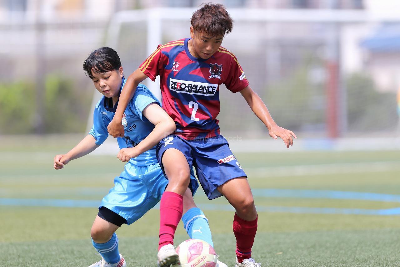 ディアヴォロッソ広島vs沼田高校サッカー部女子 県女子サッカー選手権