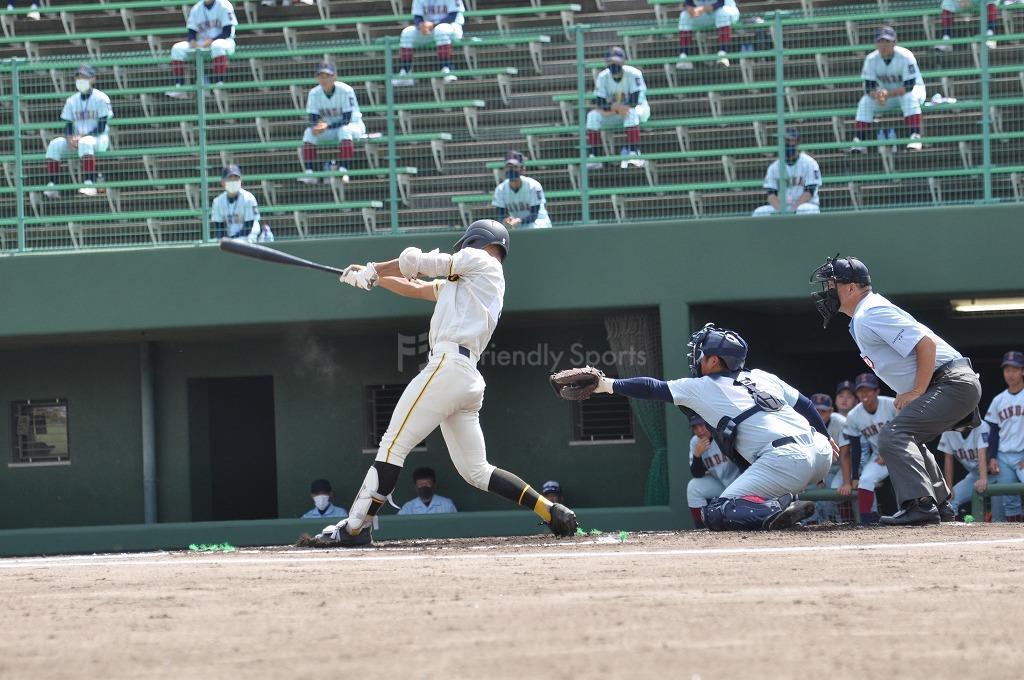 高校野球 近大福山 vs  崇徳 試合模様2!