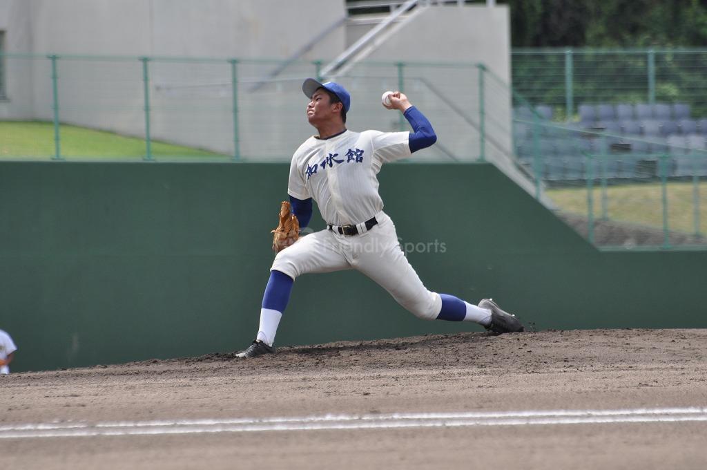 高校野球 近大福山 vs  崇徳 試合模様1!