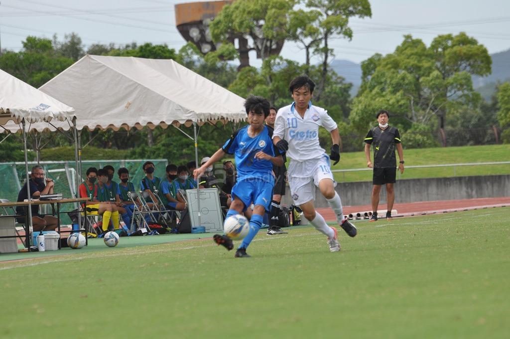 中国クラブユース シーガル VS クレフィオ 試合模様1!