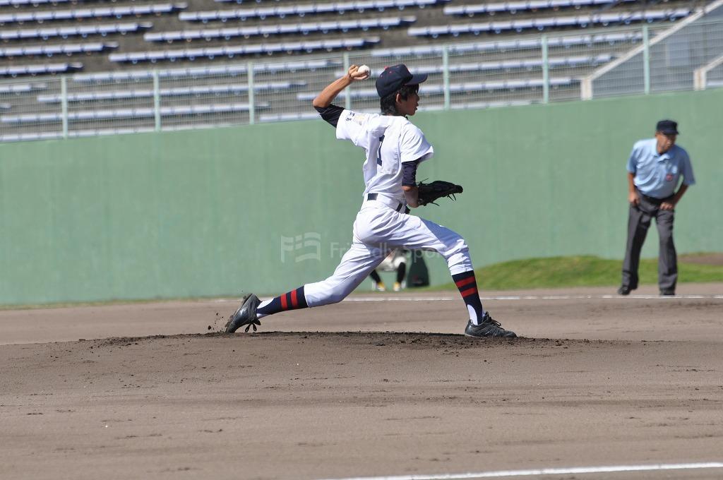 高校軟式野球 広陵 VS 広島学院 試合模様1!