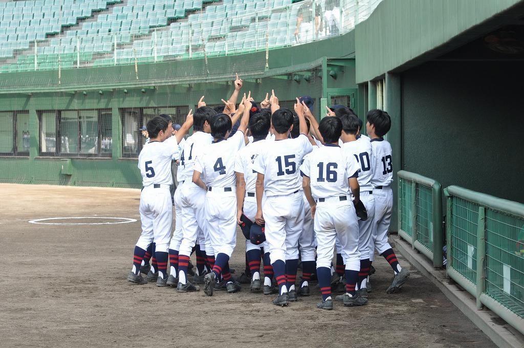 軟式野球 広島学院  Vs  広島桜ヶ丘 試合模様1!