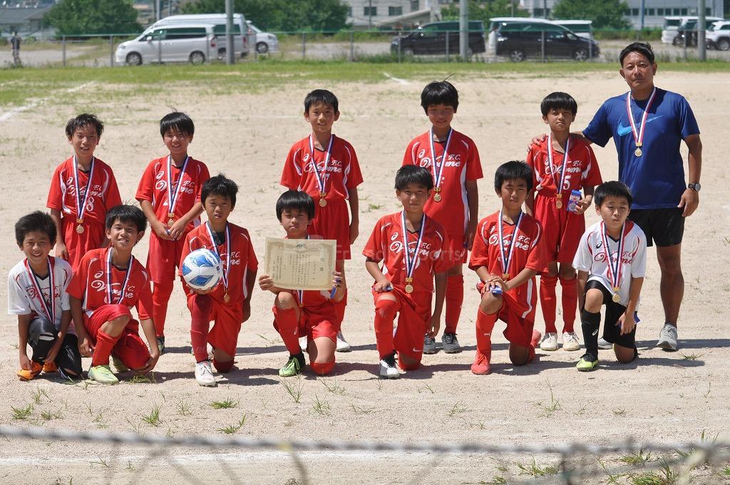 第7回JCカップU11 少年少女サッカー広島ブロック予選大会   優勝は、ヴェルメ!おめでとう!
