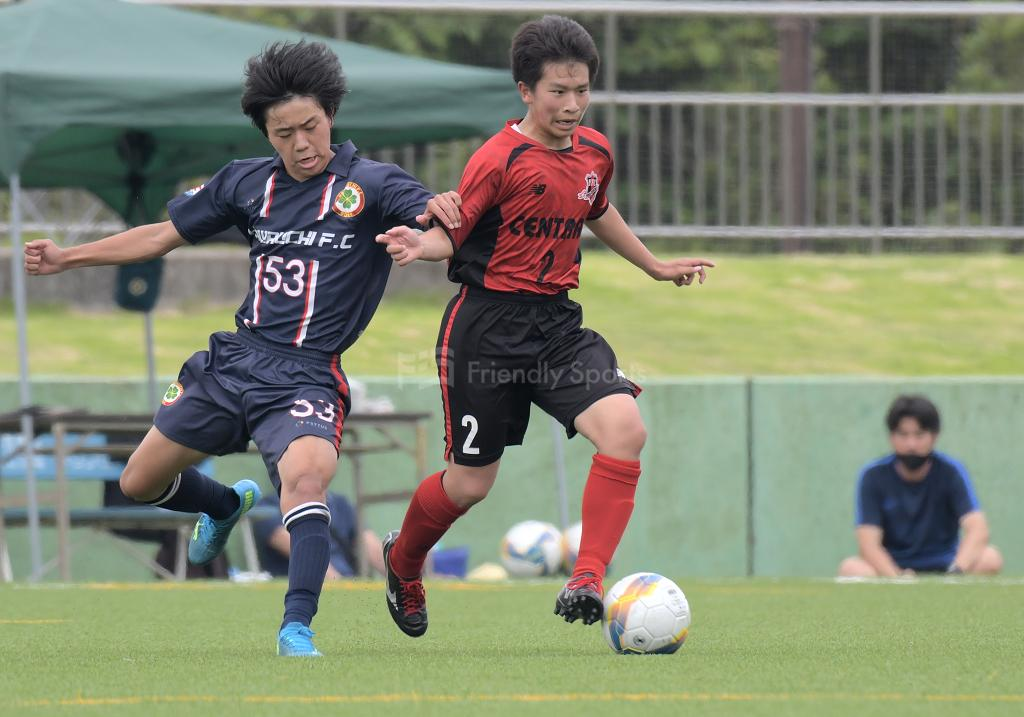 セントラル vs 川内 クラブユース選手権 U-15 広島県大会