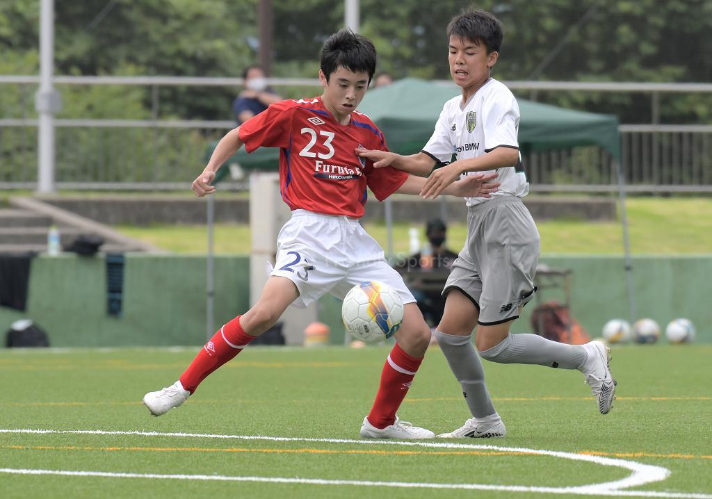 CAVATINA vs FURUTA クラブユース選手権 U-15 広島県大会