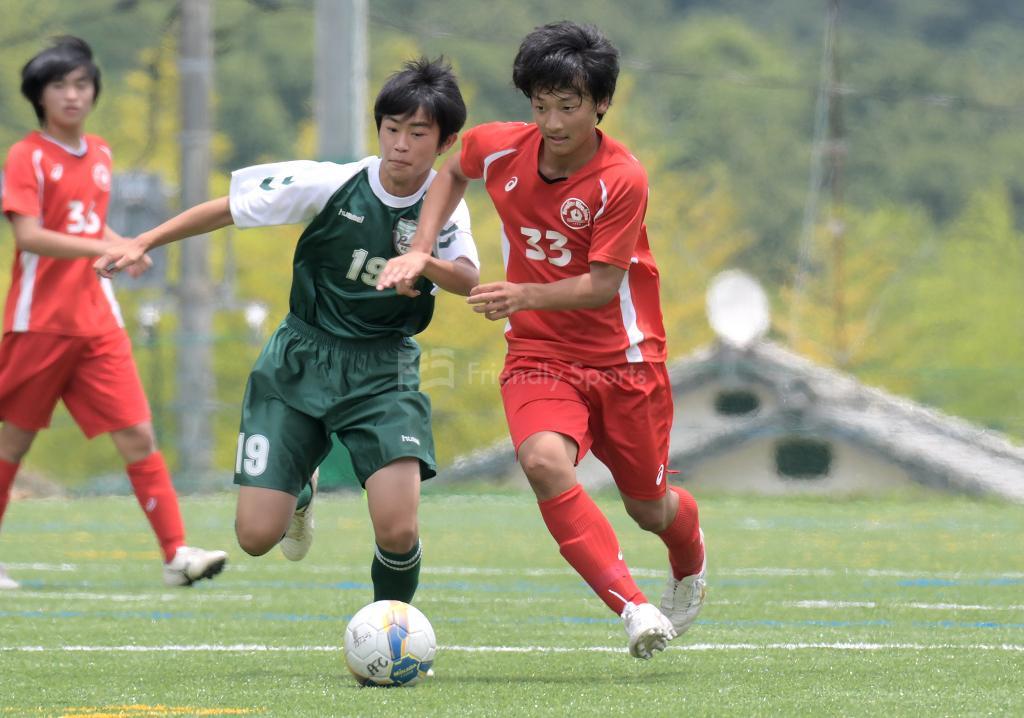 ピジョン vs レヴァリーズ クラブユース選手権 U-15 広島県大会