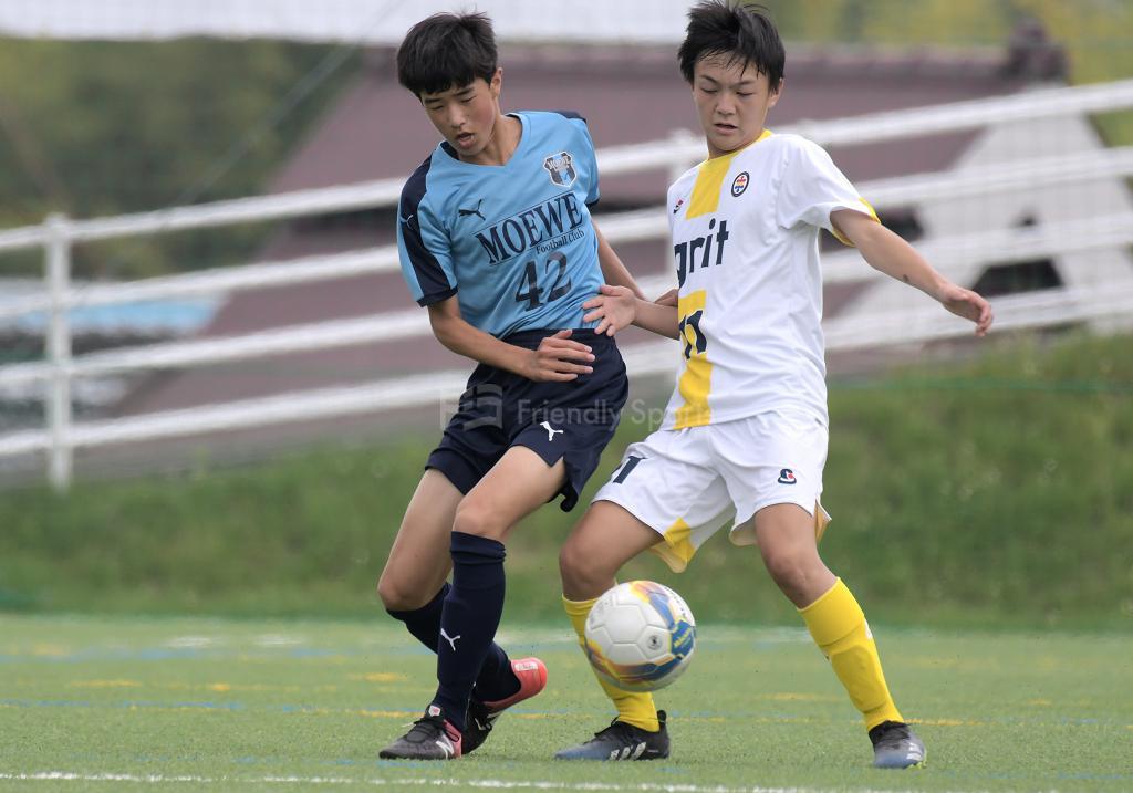 メーヴェ vs Grit クラブユース選手権 U-15 広島県大会