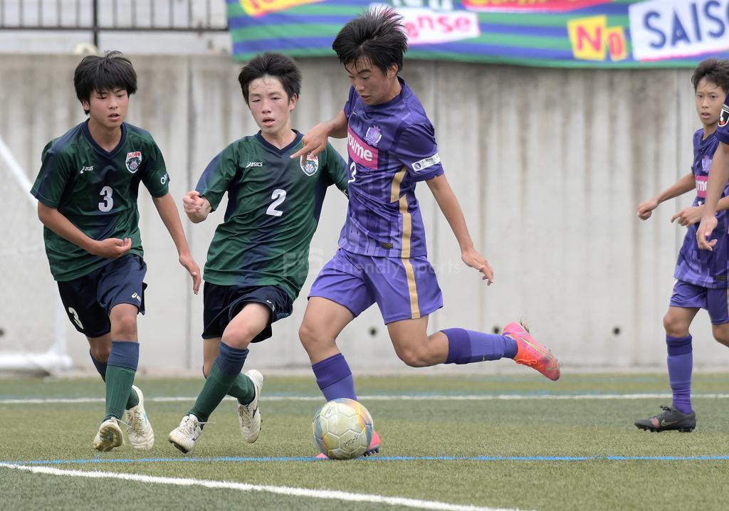サンフレ広島 vs 岡山セゾン クラブユース選手権 U-15(中国大会)